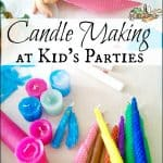 Green Fun: Candle Making for Kids Parties