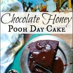 Chocolate Honey Pooh Day Cake
