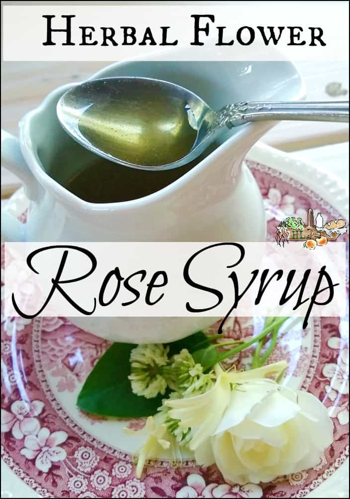Herbal Flower and Rose Syrup