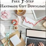 Holiday Planning for Handmade Gifts