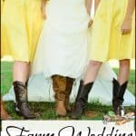 A Farm Wedding on the Homestead