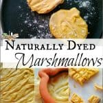 Healthy Halloween Treats: Naturally Dyed Marshmallows