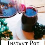Instant Pot Grape Juice Recipe