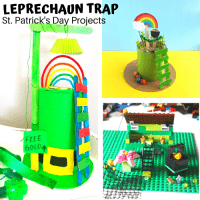 Easy Leprechaun Trap Ideas for St Patricks Day STEM