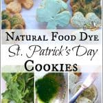 3-Way Naturally Dyed St. Patrick's Day Cookies