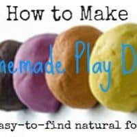 DIY: How to Make the Best Homemade Play Dough with Natural Dyes