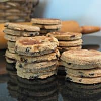 Sprouted Wheat Welsh Cookies