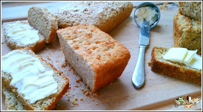 breads with butter