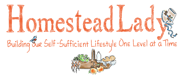 Homestead Lady Website Header